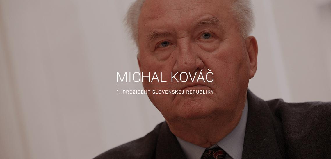 Michal Kováč foto