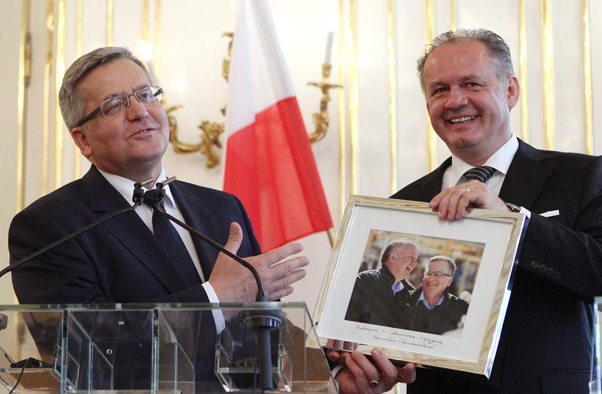 Komorowski na poslednej oficiálnej návšteve Slovenska