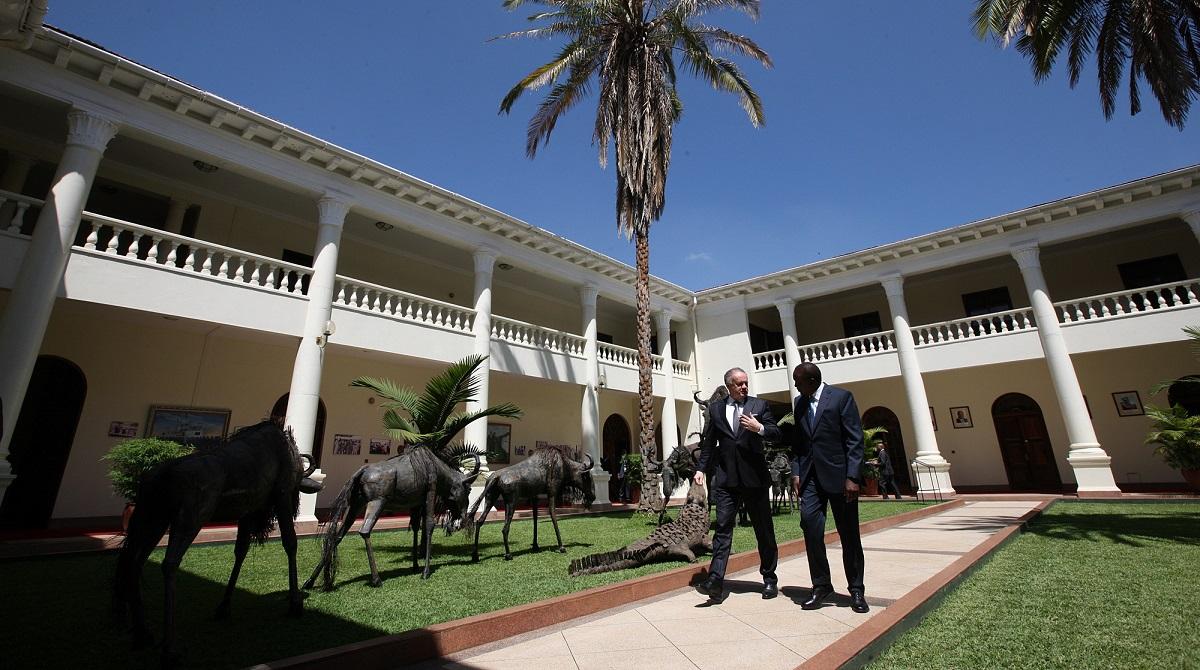 Prezident začal v Nairobi oficiálnu návštevu Kene
