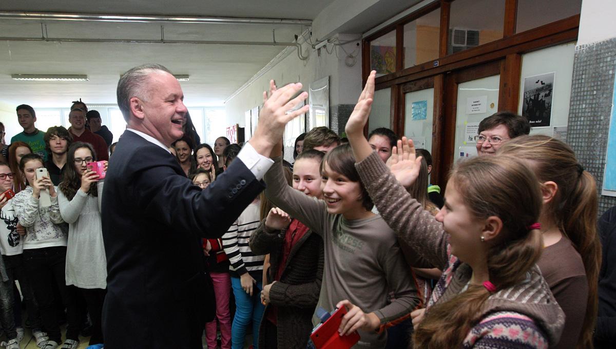 Prezident navštívil Starú Ľubovňu a Chmeľnicu
