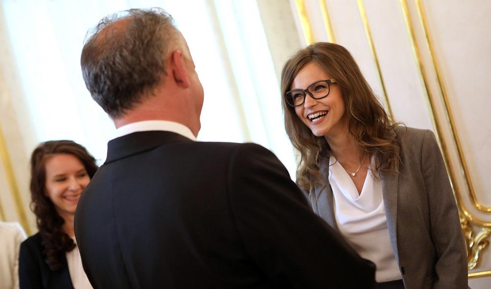 Prezident prijal laureátov súťaže Študentská osobnosť roka