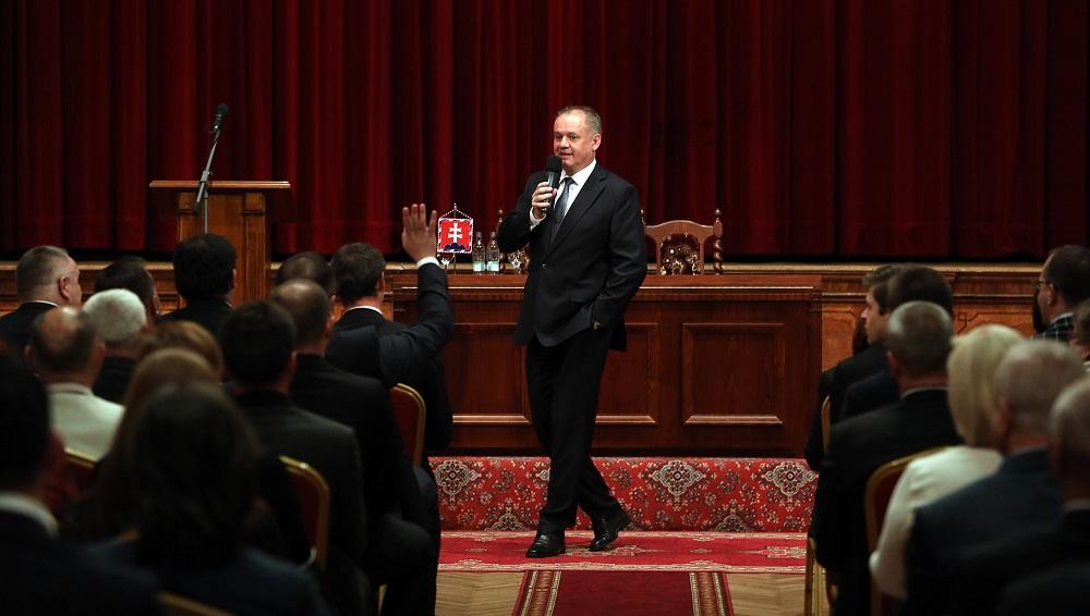Prezident diskutoval v Prešove o zdravotníctve aj doprave