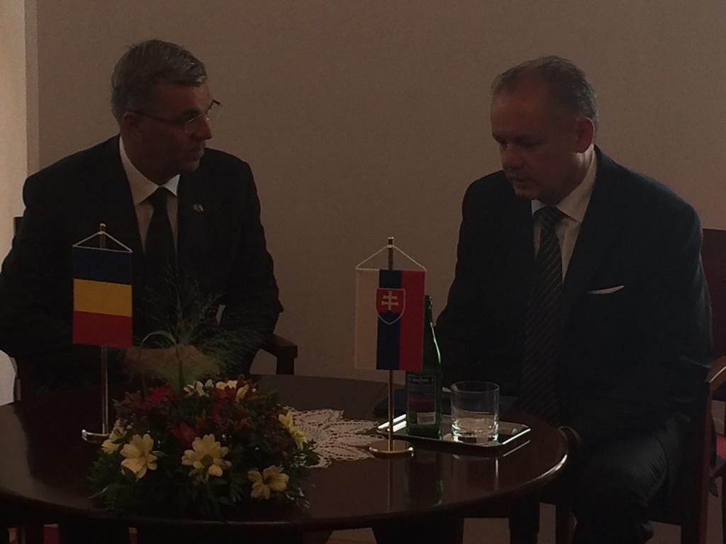 Kiska rokoval s predsedom Snemovne rumunského parlamentu