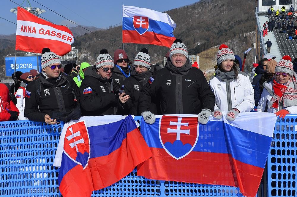 Prezident navštívil olympionikov v horskej dedine