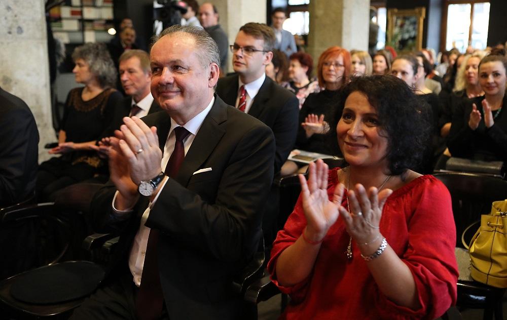 Prezident sa zúčastnil na udeľovaní ocenení Vnímavá komunita