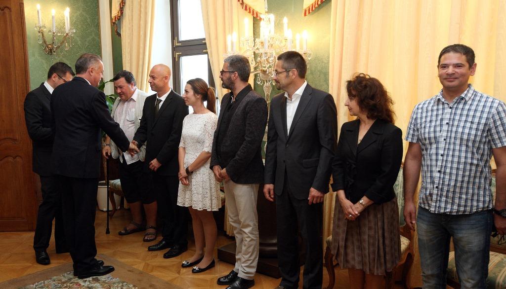Prezident diskutoval o rómskej problematike s mimovládkami