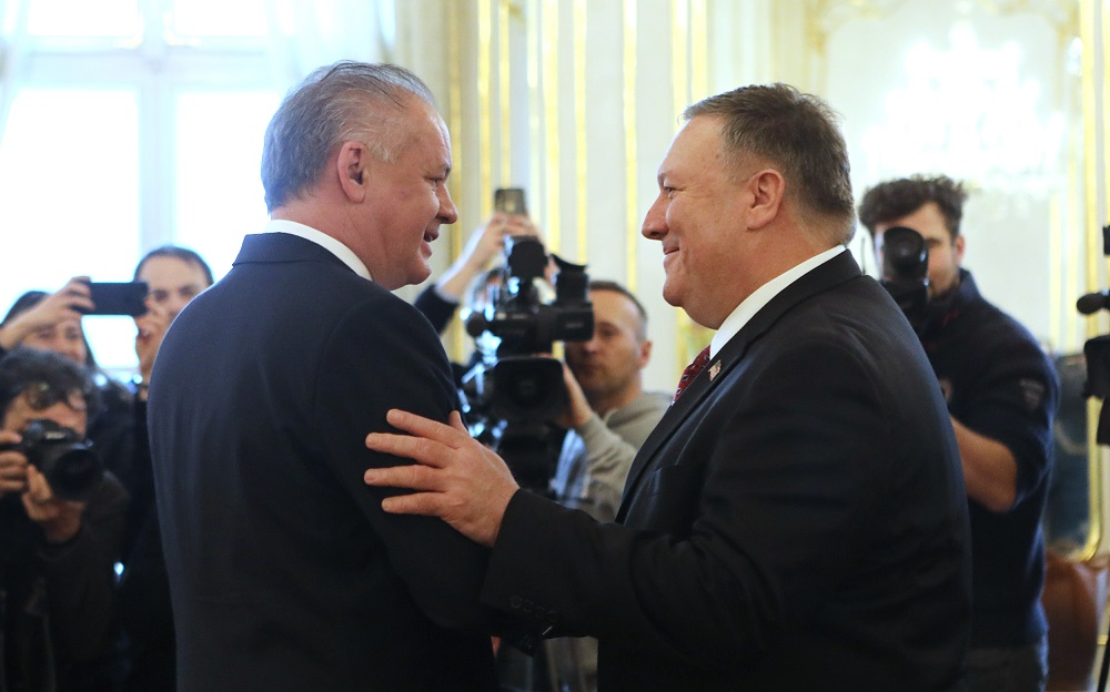 President receives US Secretary of State Mike Pompeo