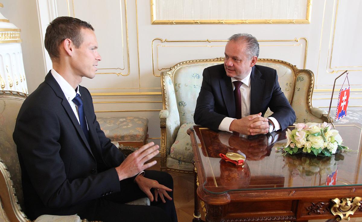 Prezident sa poďakoval Matejovi Tóthovi za reprezentáciu