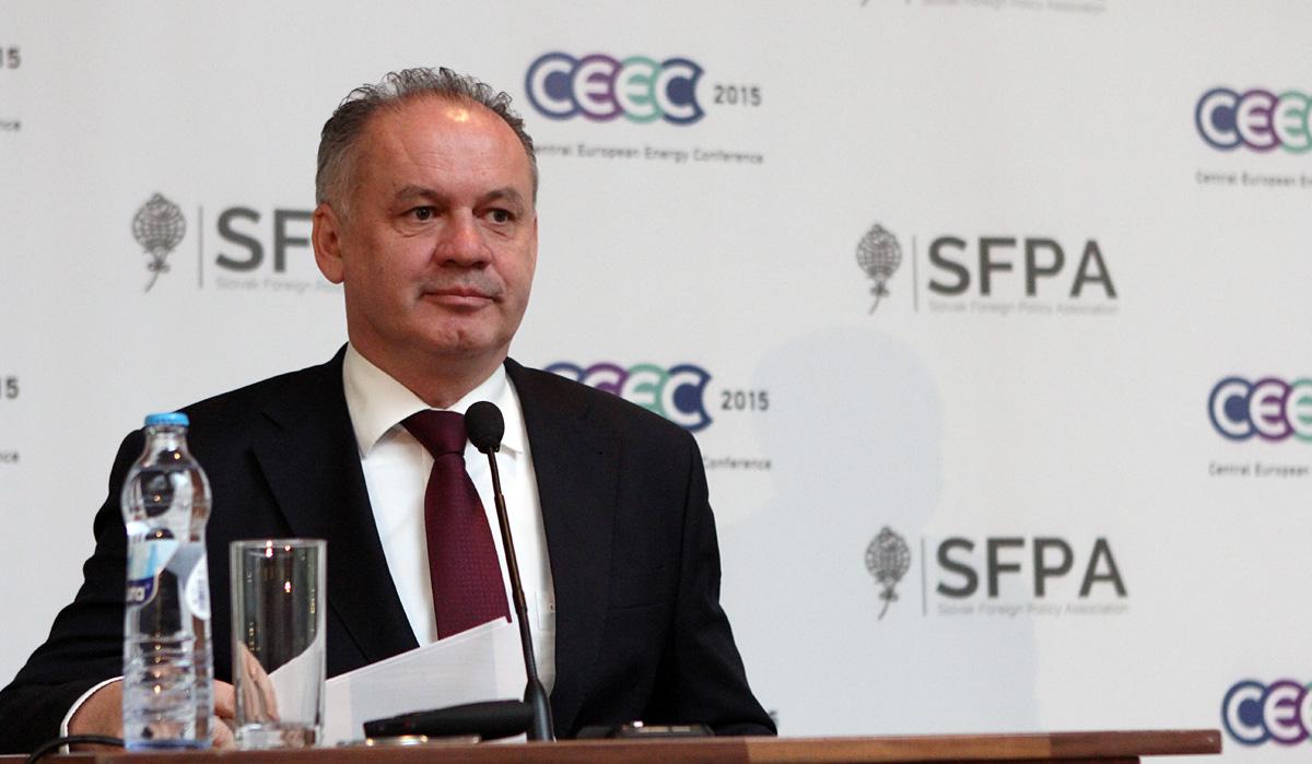Andrej Kiska: Projekt Energetickej únie si zaslúži podporu