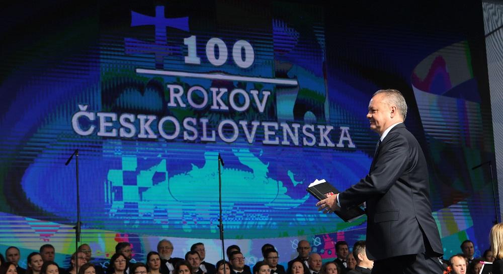 Prezident v Martine: V úžasnom projekte EÚ sme sa opäť spojili s Českom