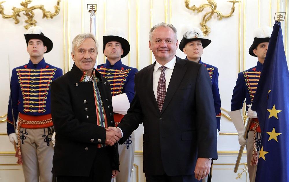 Prezident prijal nórskeho a cyperského veľvyslanca