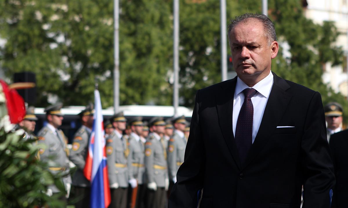 Prezident si uctil účastníkov Slovenského národného povstania