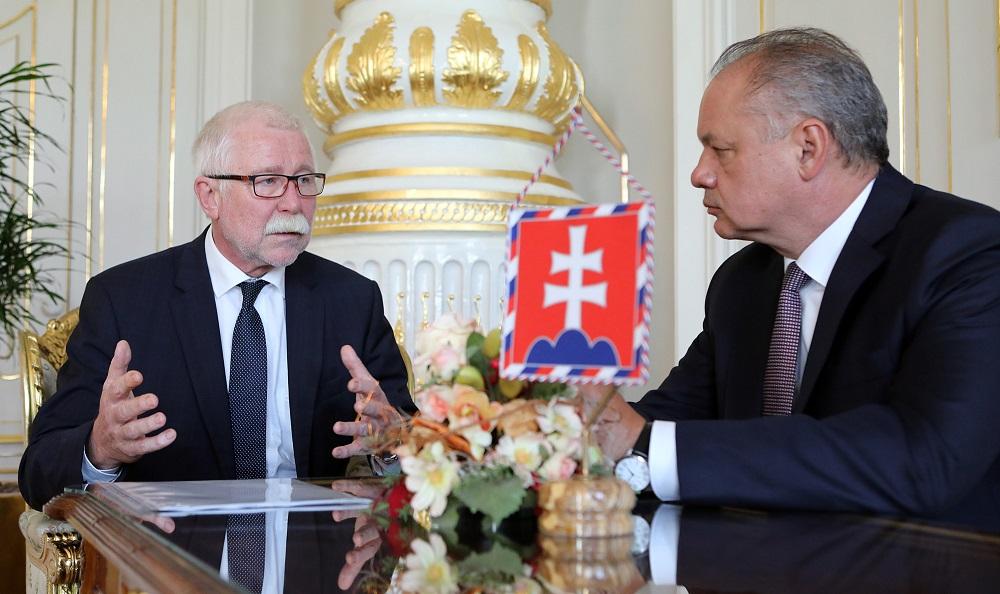 Prezident prijal predsedu SAV, očakáva rýchle vyriešenie situácie