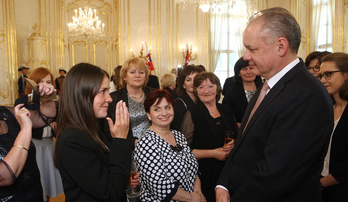 Prezident prijal ocenených dobrovoľníkov Červeného kríža