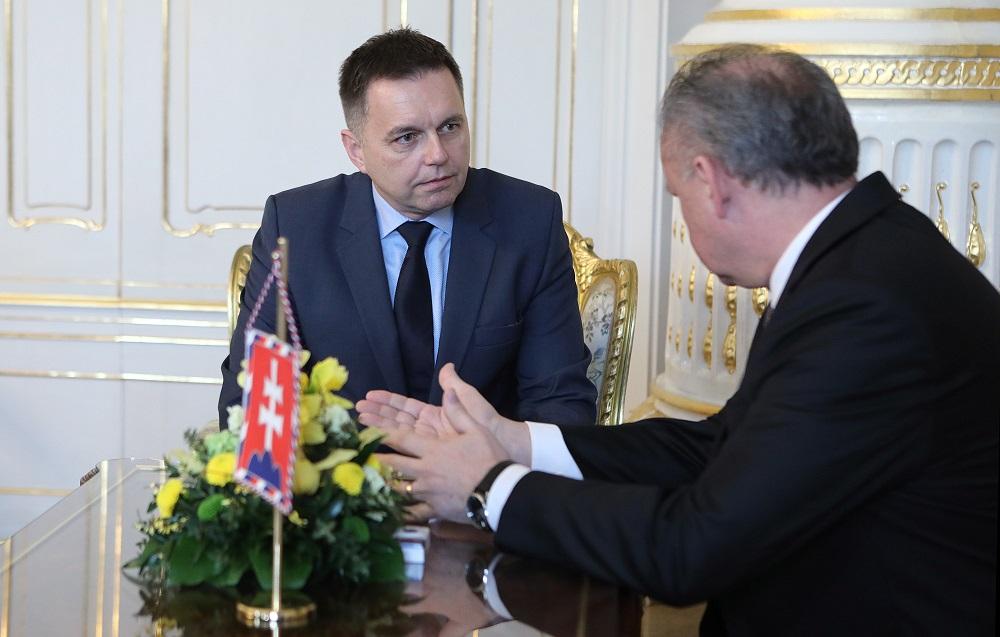 Prezident prijal kandidátov na guvernéra a viceguvernéra národnej banky