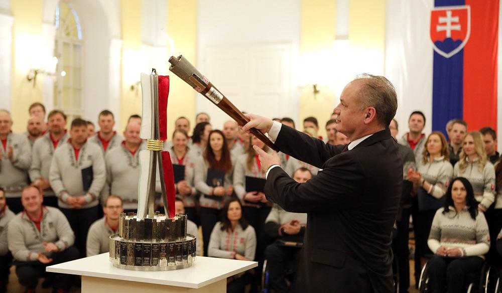 Prezident prijal sľub od slovenských olympionikov a paralympionikov