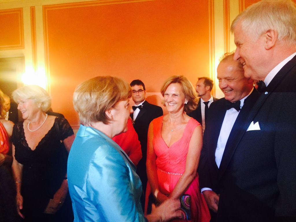 Kiska sa v Nemecku stretol s Merkelovou
