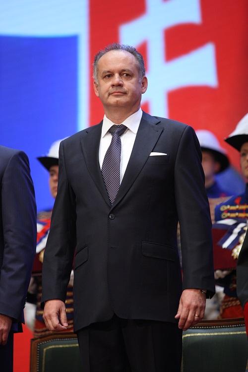 Official photo - president Andrej Kiska