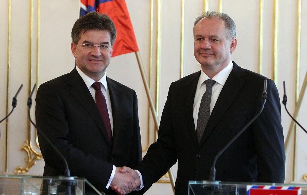 Prezident podporil Miroslava Lajčáka v kandidatúre na šéfa OSN