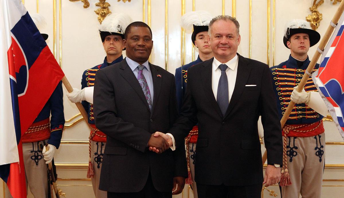 Prezident Kiska rokoval s predsedom kenského parlamentu