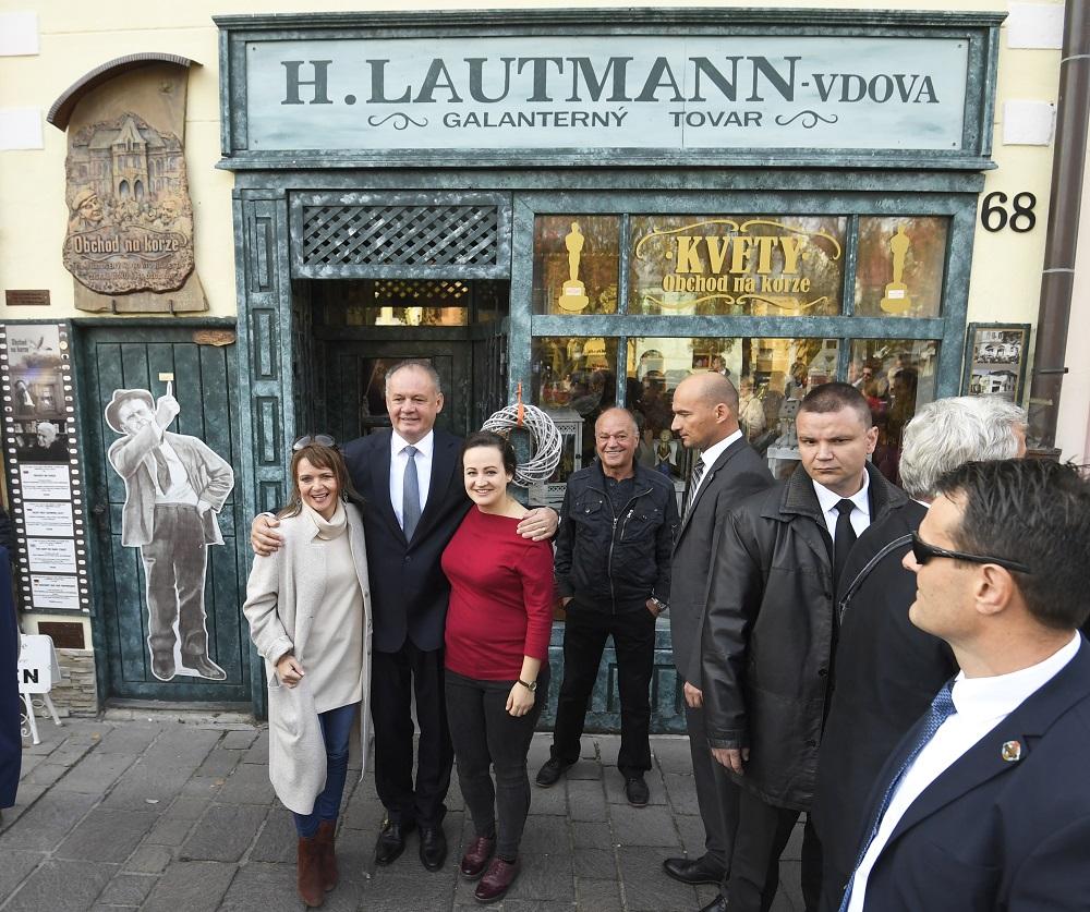Prezident navštívil Sabinov, diskutoval o nezamestnanosti a Rómoch