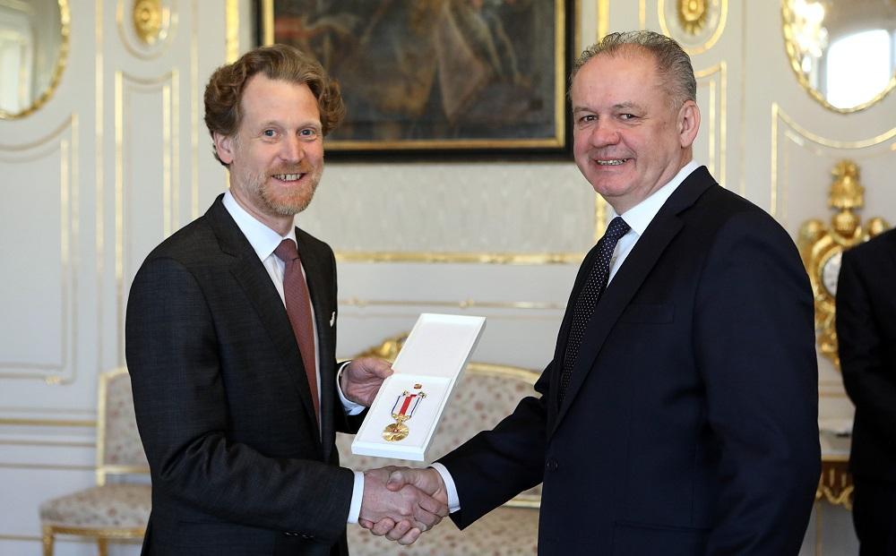 Prezident prijal končiaceho rakúskeho veľvyslanca Carla