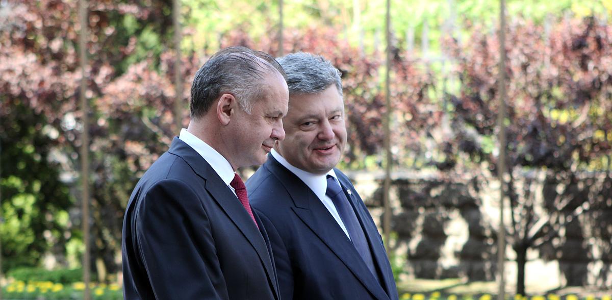 Kiska sa v Kyjeve pýtal na reformy a ako môže Slovensko pomôcť
