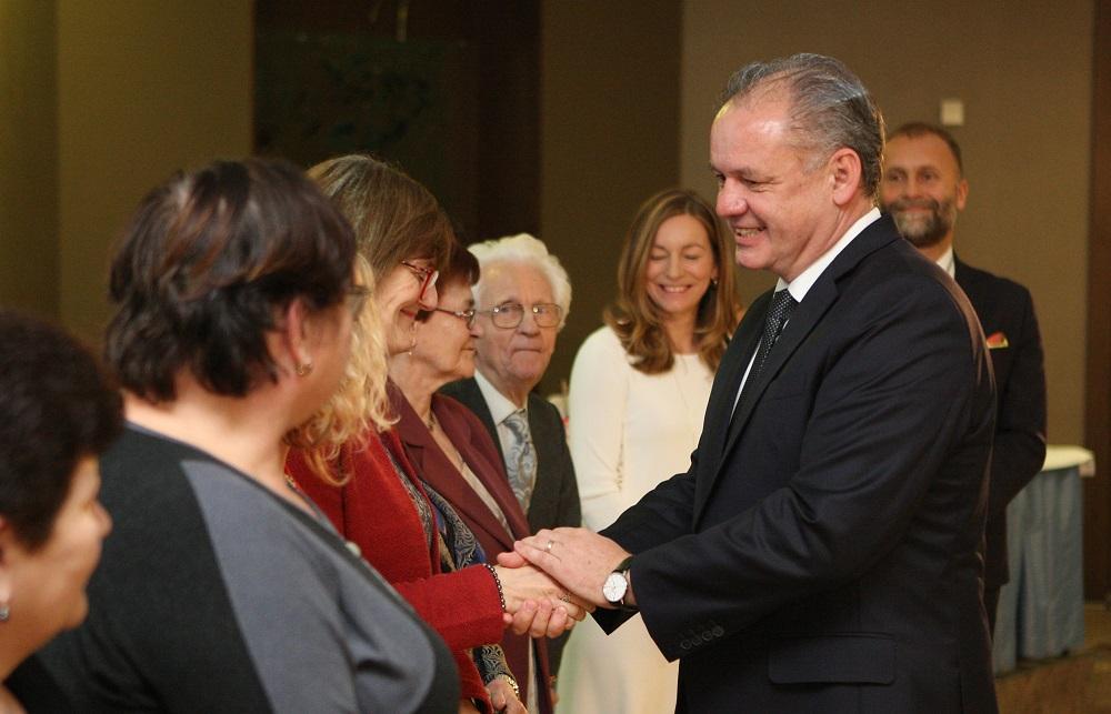 Prezident poďakoval detskej onkológii v Bratislave