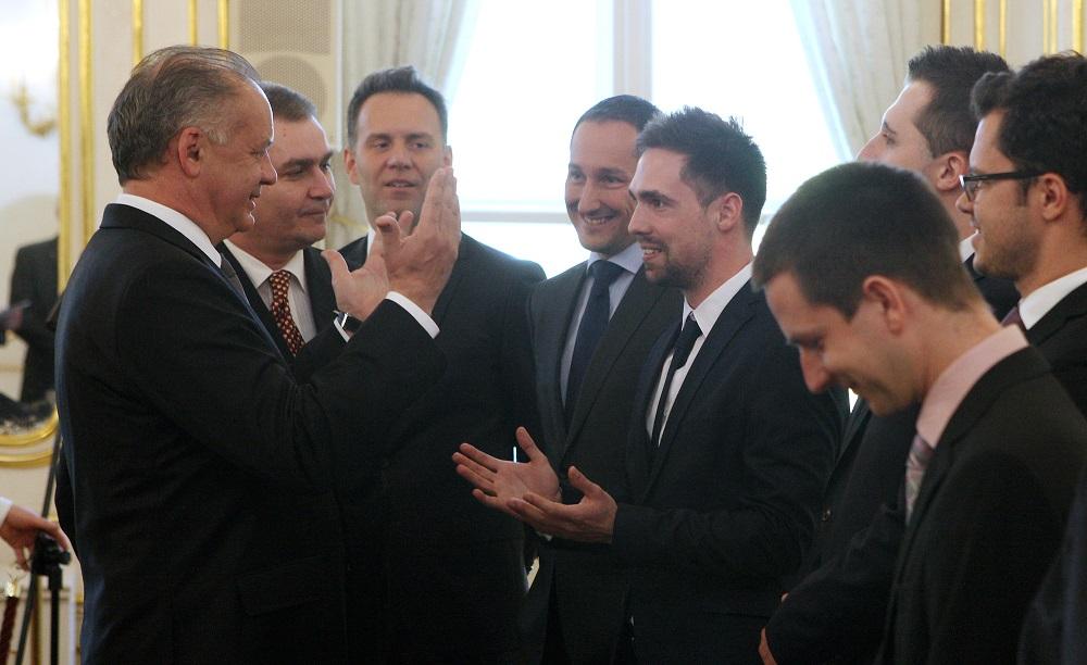 Prezident zablahoželal laureátom Študentskej osobnosti Slovenska