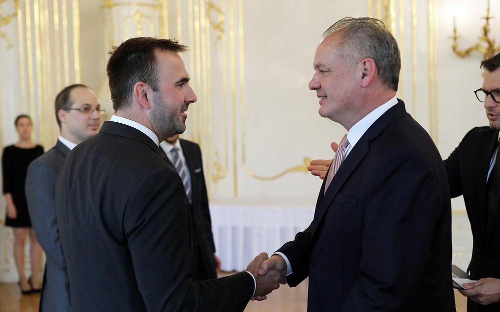 Prezident prijal riaditeľa Útvaru hodnoty za peniaze Štefana Kišša