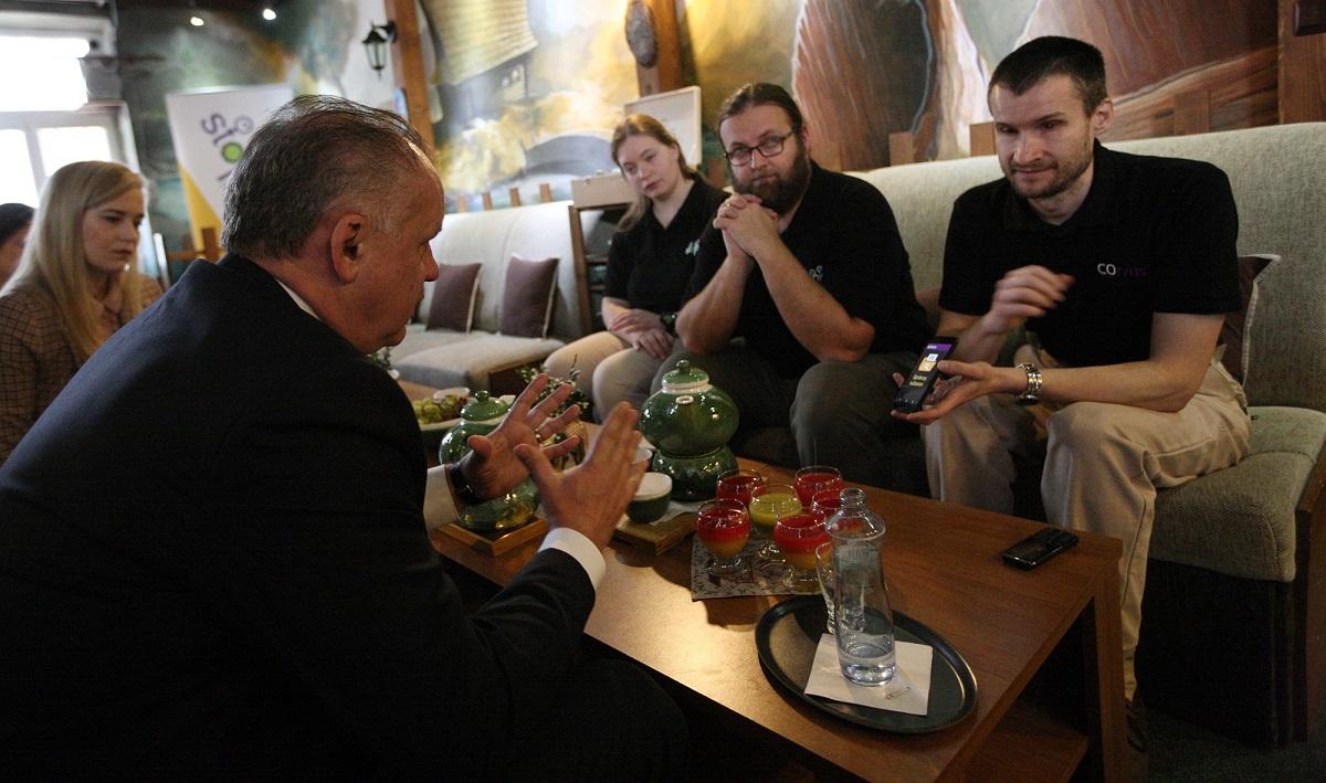 Prezident navštívil Ružomberok a obec Valaská Dubová