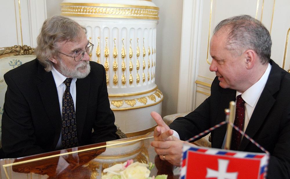 Prezident pozval do paláca blogera Jána Benčíka