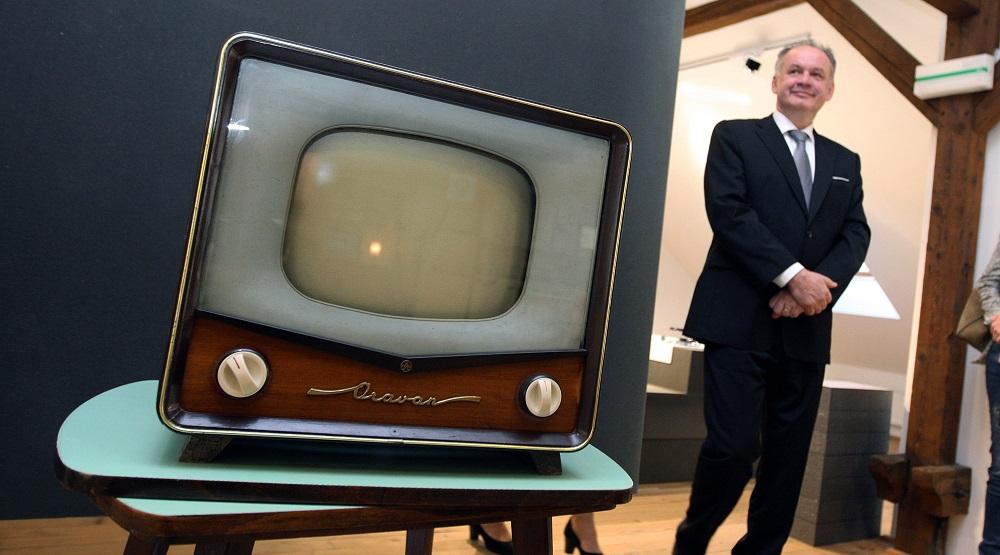 Andrej Kiska navštívil výstavu Farebná šeď