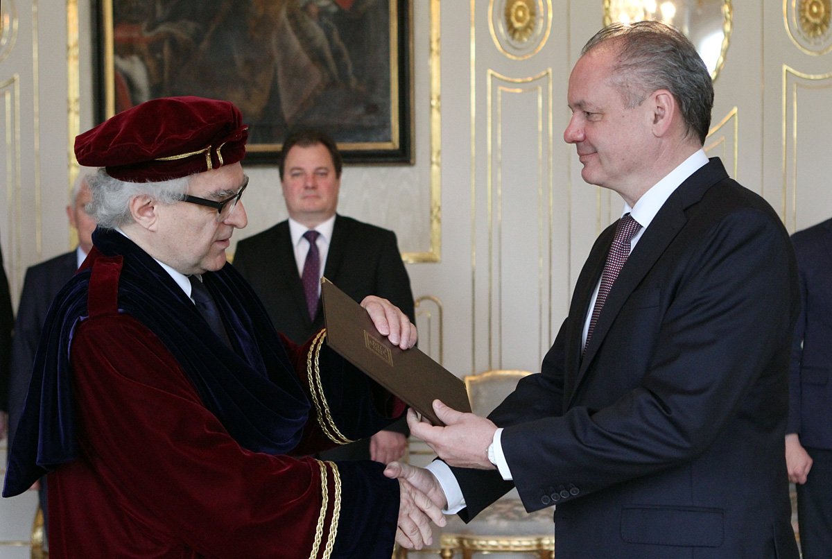 Prezident vymenoval rektora Hudobnej a umeleckej akadémie