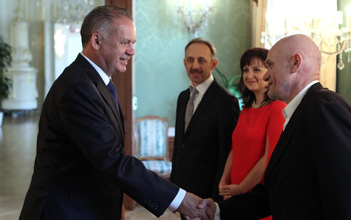 Prezident Kiska prijal Slovenskú komoru architektov