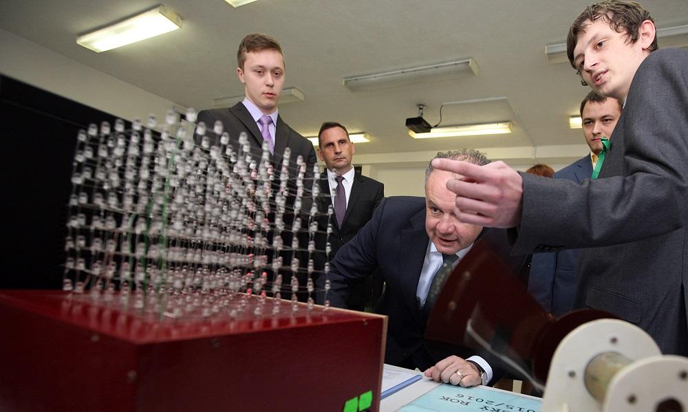 Prezident navštívil Žiar nad Hronom a Kremnicu
