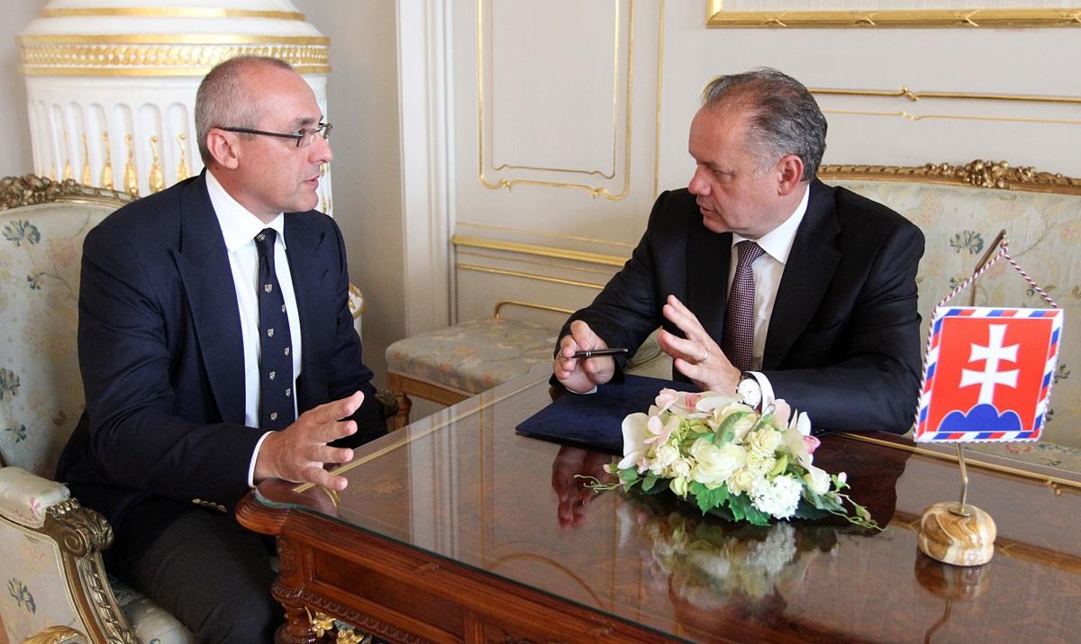Prezident prijal ministra spravodlivosti Boreca
