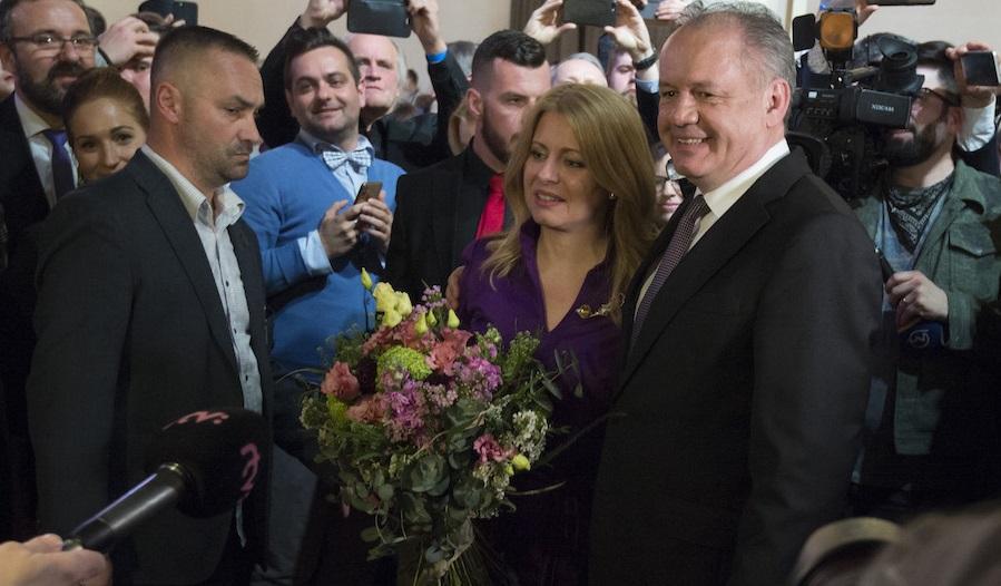 Andrej Kiska zagratuloval Zuzane Čaputovej k zvoleniu za prezidentku