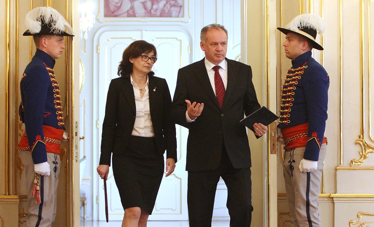 Prezident po stretnutí s Luciou Žitňanskou: Máme šancu dosiahnuť pokrok