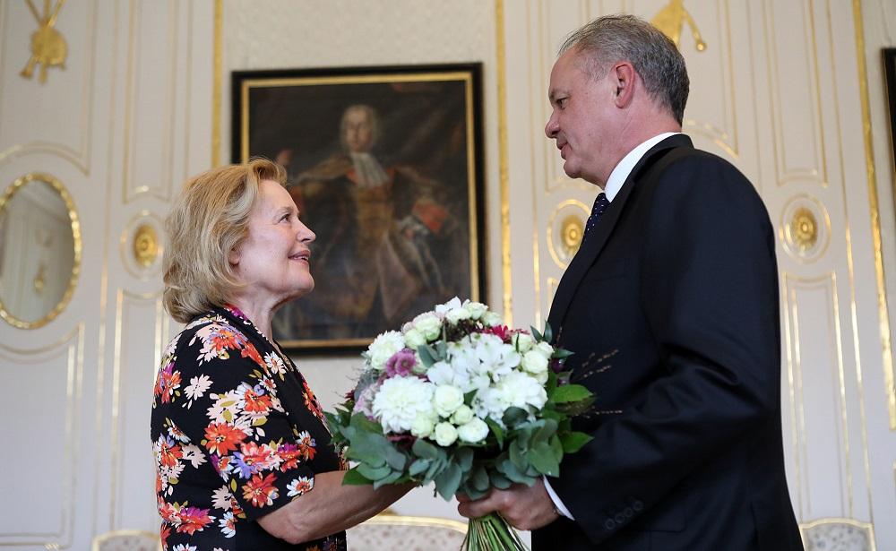 Prezident zablahoželal Magde Vášáryovej k životnému jubileu