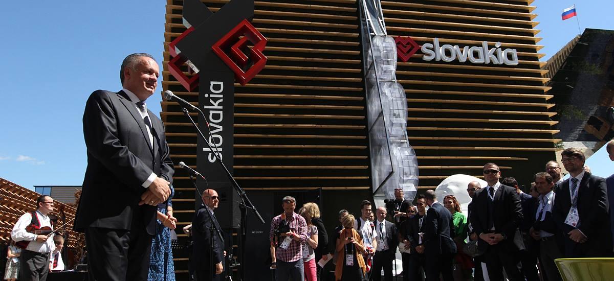 Prezident na EXPO v Miláne otvoril Národný deň SR