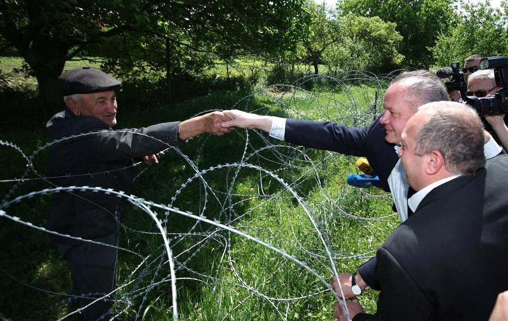 Prezident Kiska: Ruské zabratie Južného Osetska je agresiou