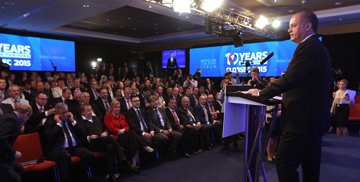 Prezident na Globsecu: Potrebujeme odvážne nové rozhodnutia