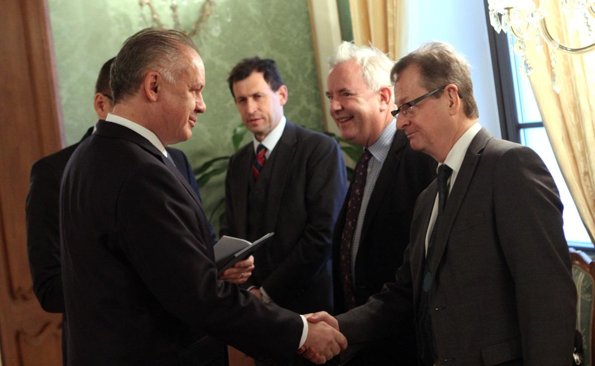 Prezident rokoval so zástupcami Benátskej komisie