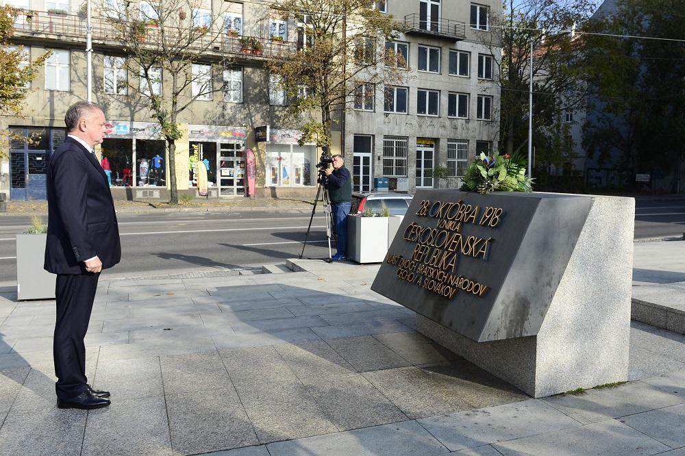 Andrej Kiska pripomenul význam Československej republiky