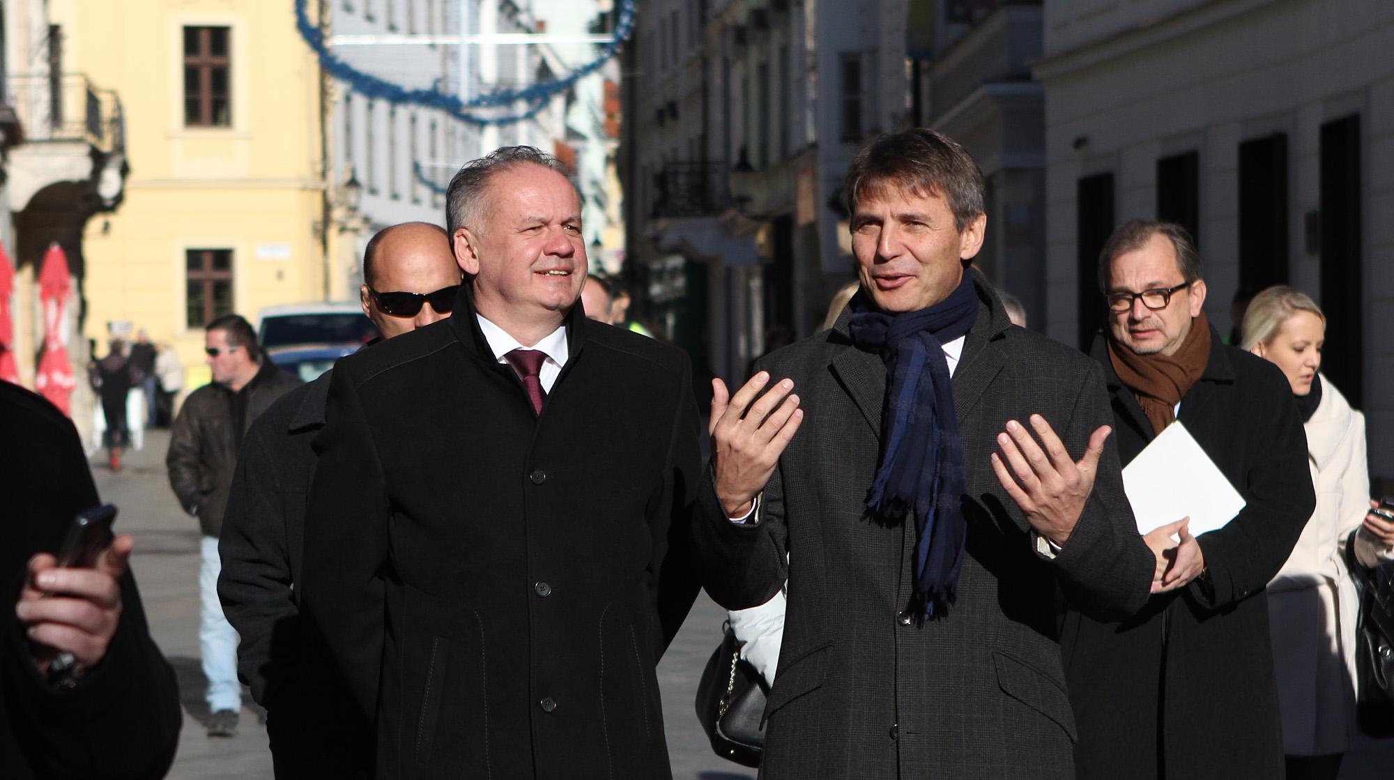 Prezident: Z Bratislavy by malo vyrásť mesto s víziou