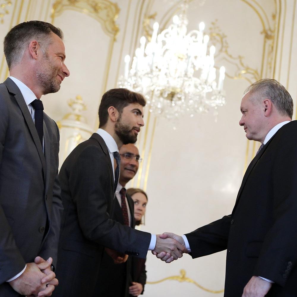 Prezident prijal zástupcov International Press Institute