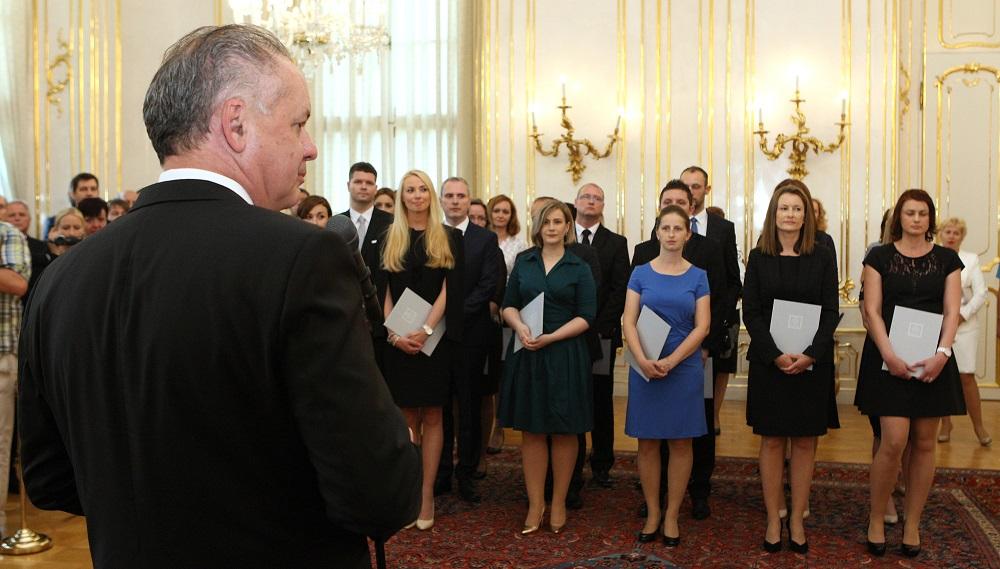 Prezident vymenoval 23 nových sudcov, aj s exekučnou agendou
