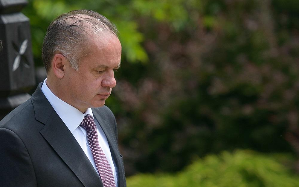Prezident Kiska vyjadril sústrasť po páde lietadla v Rusku