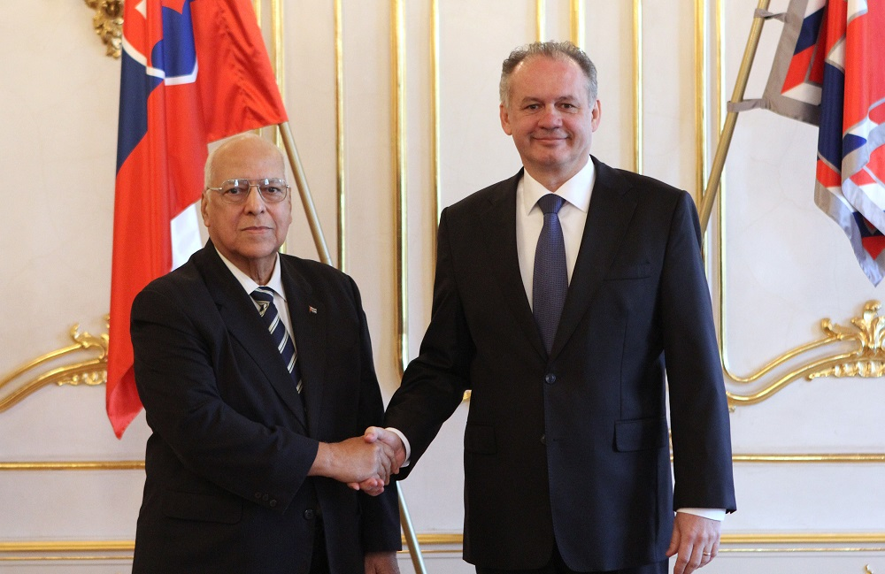 Kiska prijal podpredsedu Rady ministrov Kuby